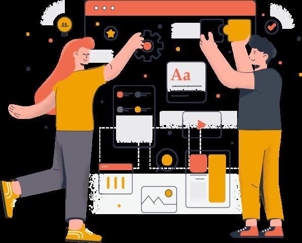 criação de sites desenvolvimento